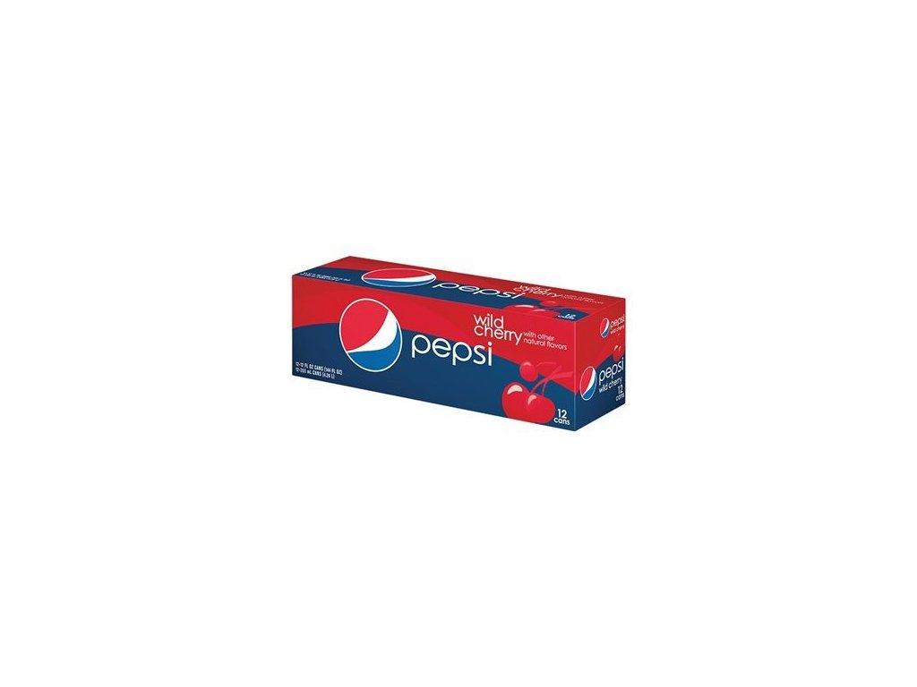 Pepsi Wild Cherry USA karton 12x 355ml