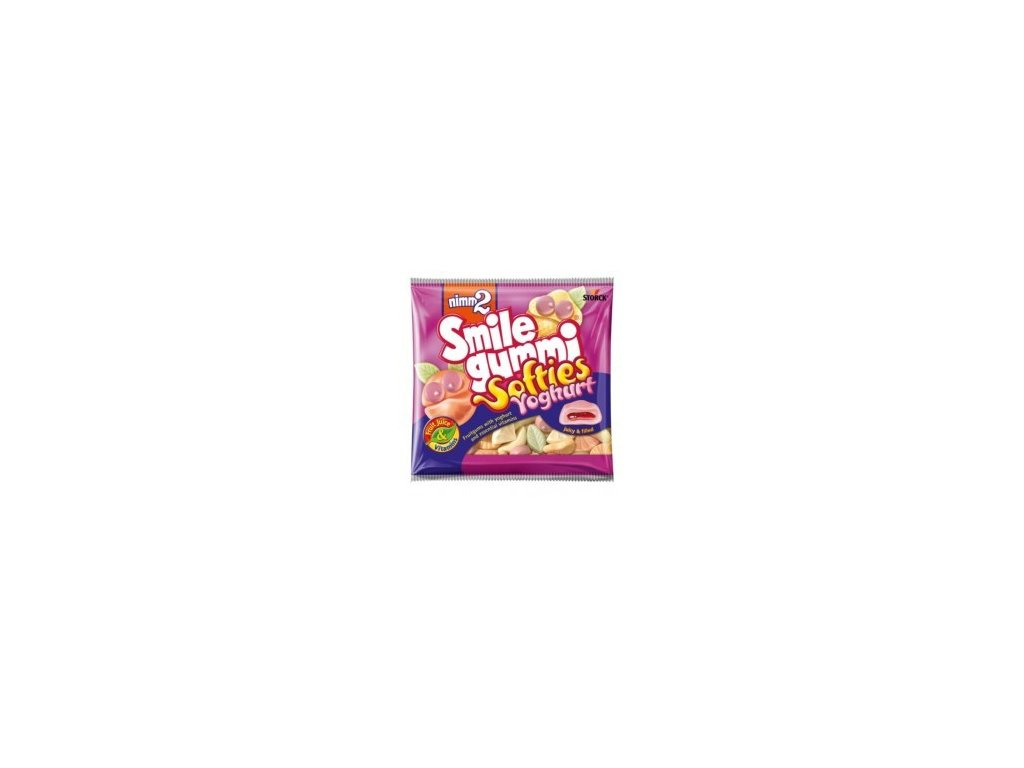 Storck Nimm 2 Smile gummi softies jogurtové 90g