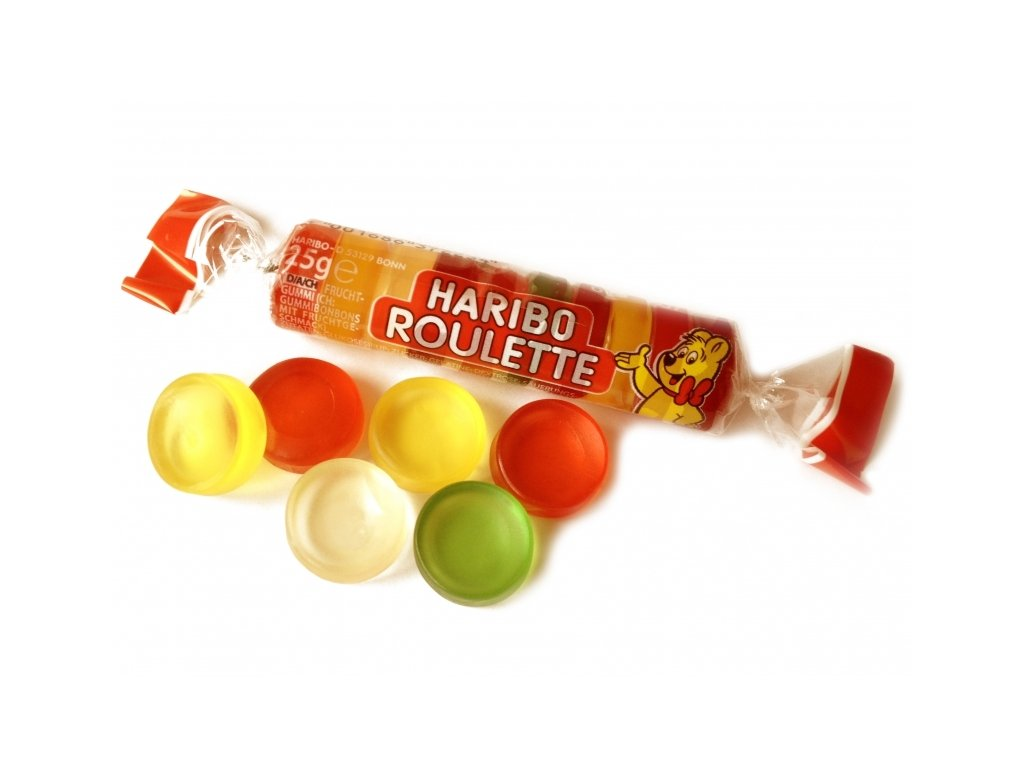 HARIBO Frucht Roulette 25g