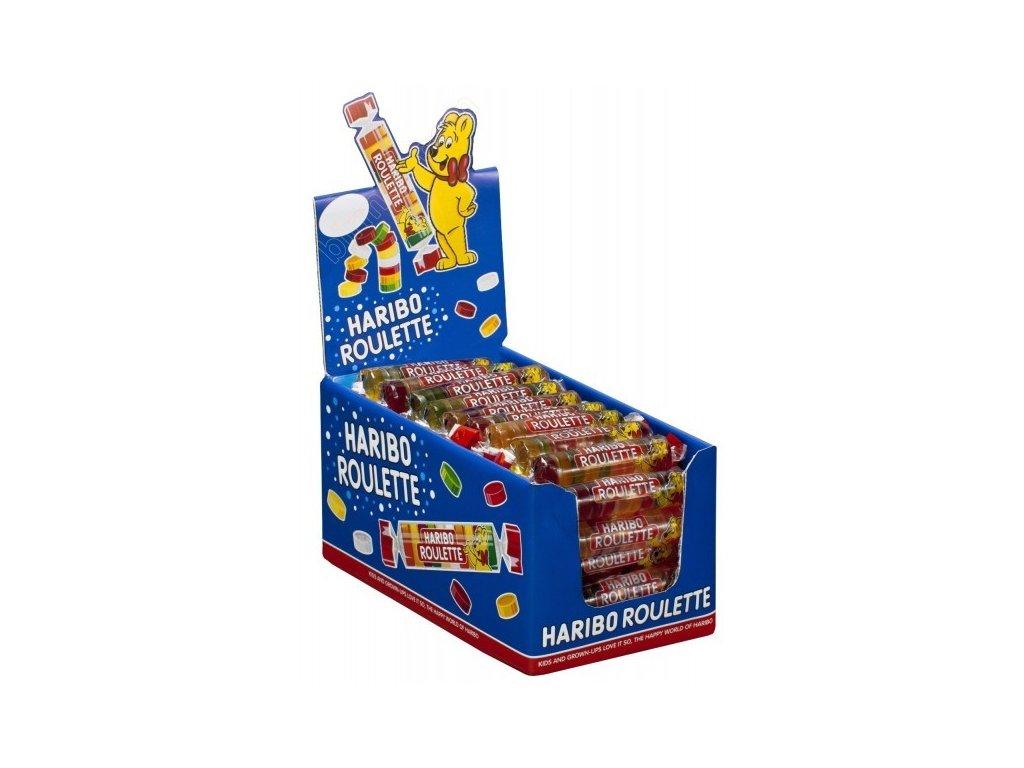 HARIBO Frucht Roulette karton 50× 25g