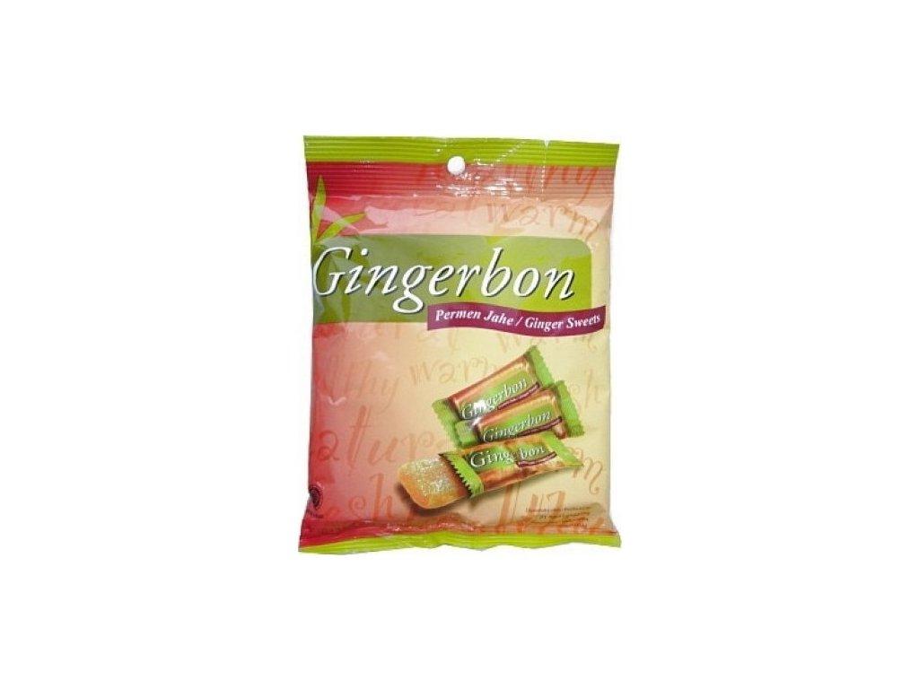 Stykra Gingerbon zázvorové bonbony 125g