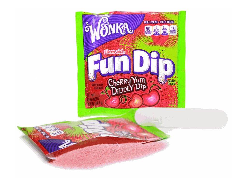 Wonka Fun Dip Cherry Yum 12,1g