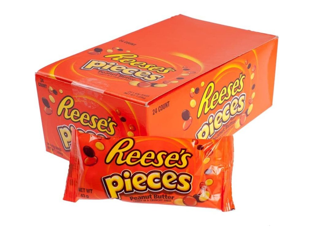 reeses pieces 24x43g