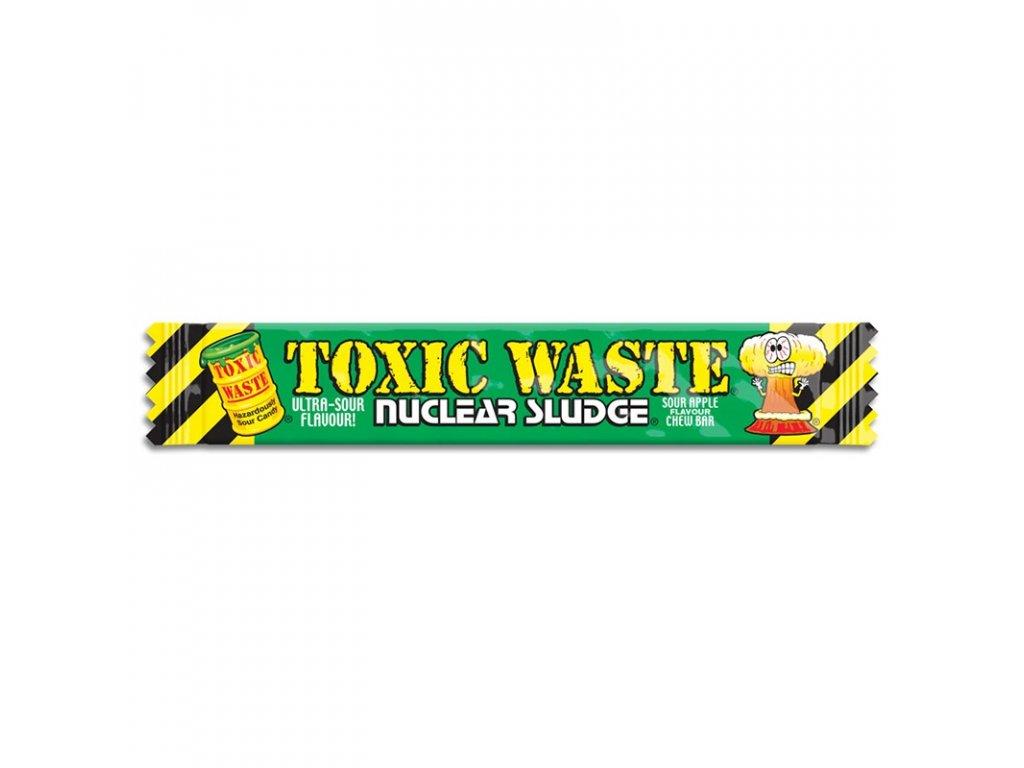 Toxic Waste Nuclear Sludge Chew Bar Sour Green Apple 20g
