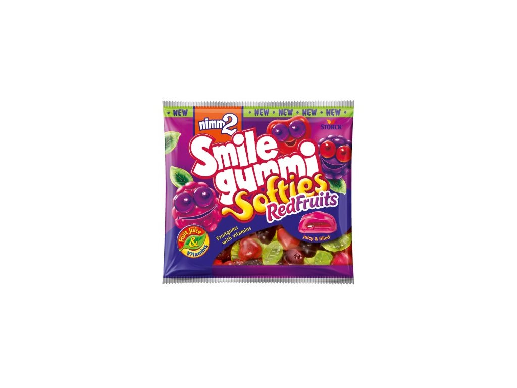 Storck Nimm 2 Smilegummi Softies Red Fruits 90g