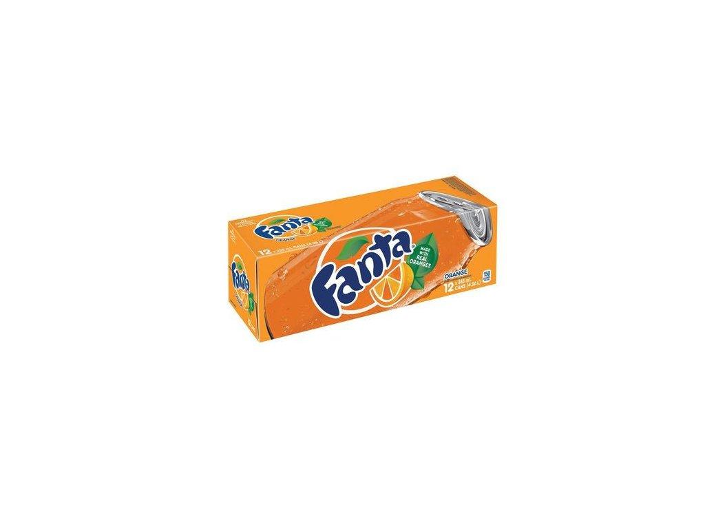 Fanta Orange USA karton 12x 355ml
