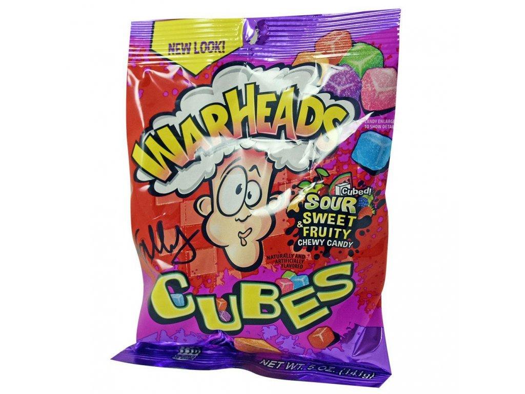 Warheads Extreme Sour Cubes 5oz PEG BAGS 01