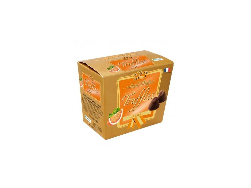 Maitre Truffout - Gold Truffles - Pomerančové 200g