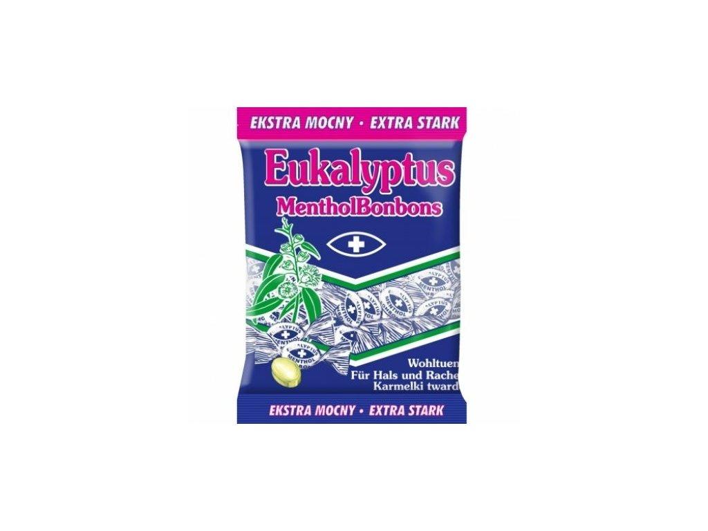 Eukalyptus extra strong bonbóny 150g
