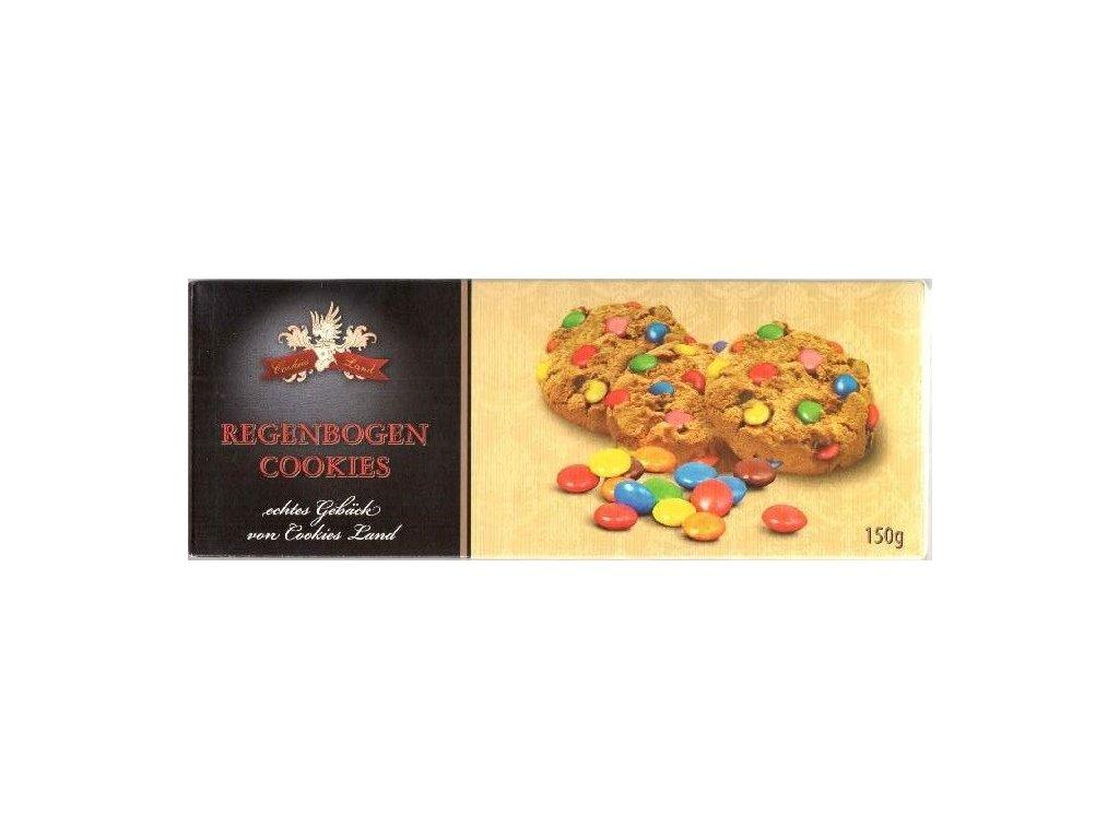 Cookiesland sušenky Regenbogen Cookies 150g