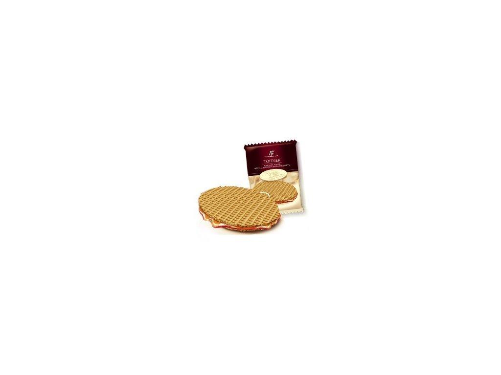 Tofinek - karamelová wafle 40g