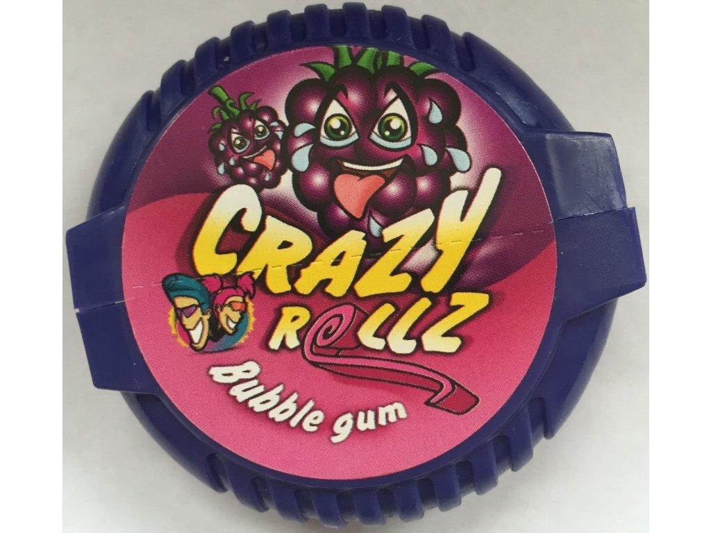 Crazy Rollz Bubble Gum Blue Raspberry 16g