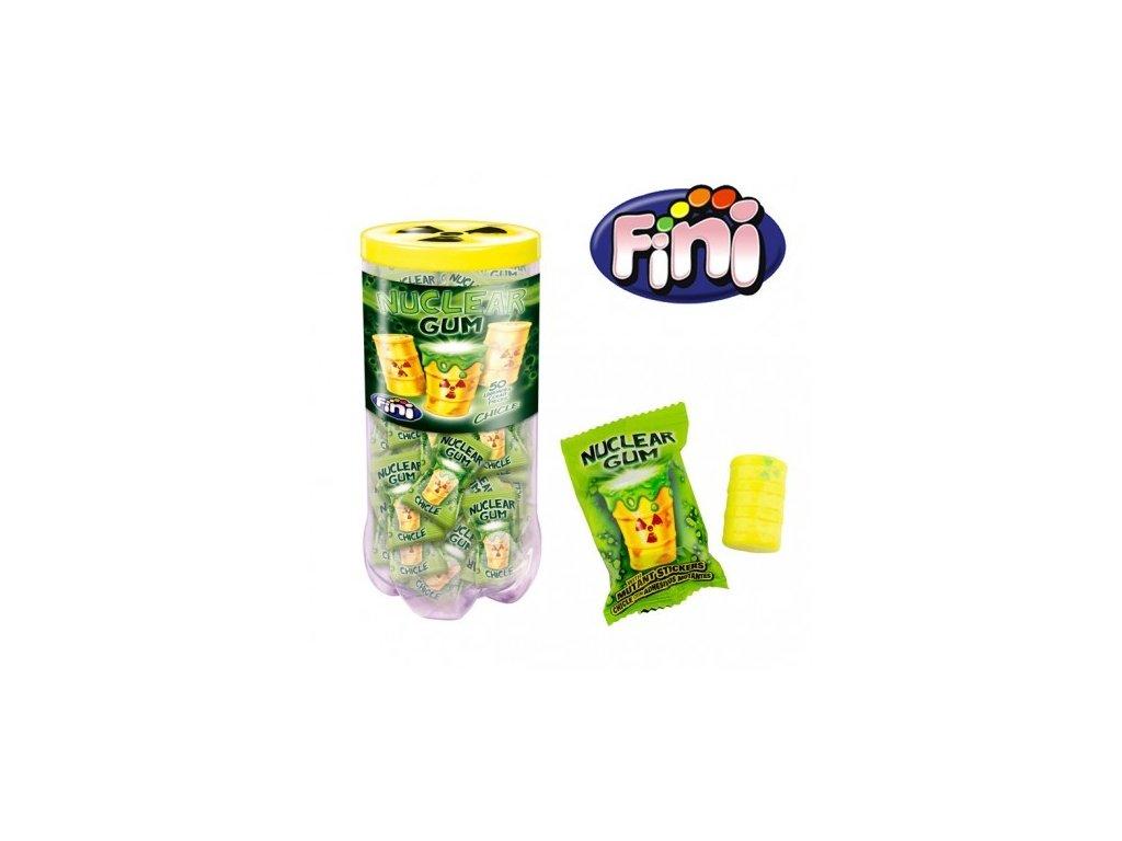 Fini - žvýkačky Nuclear Gum karton 50x 14g