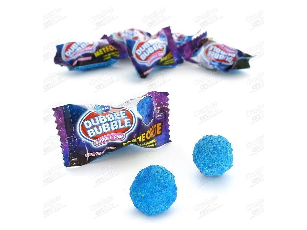 Dubble Bubble Meteorite - barvící žvýkačky 4,75g