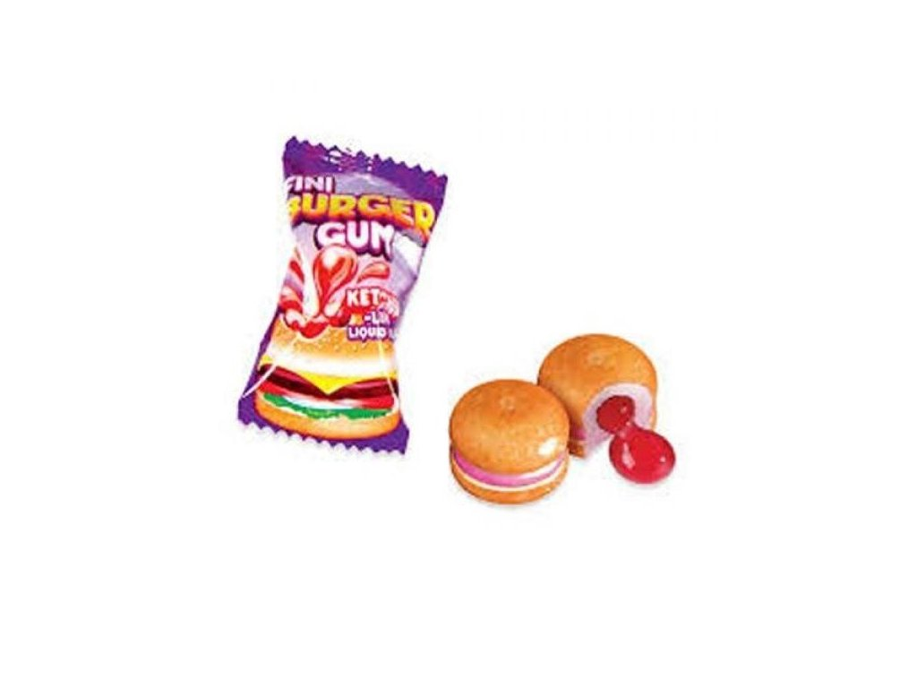 Fini - žvýkačky Burger 5g