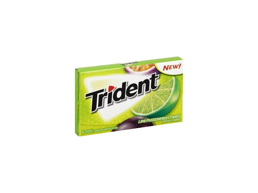 Trident Lime Passion Fruit 27g