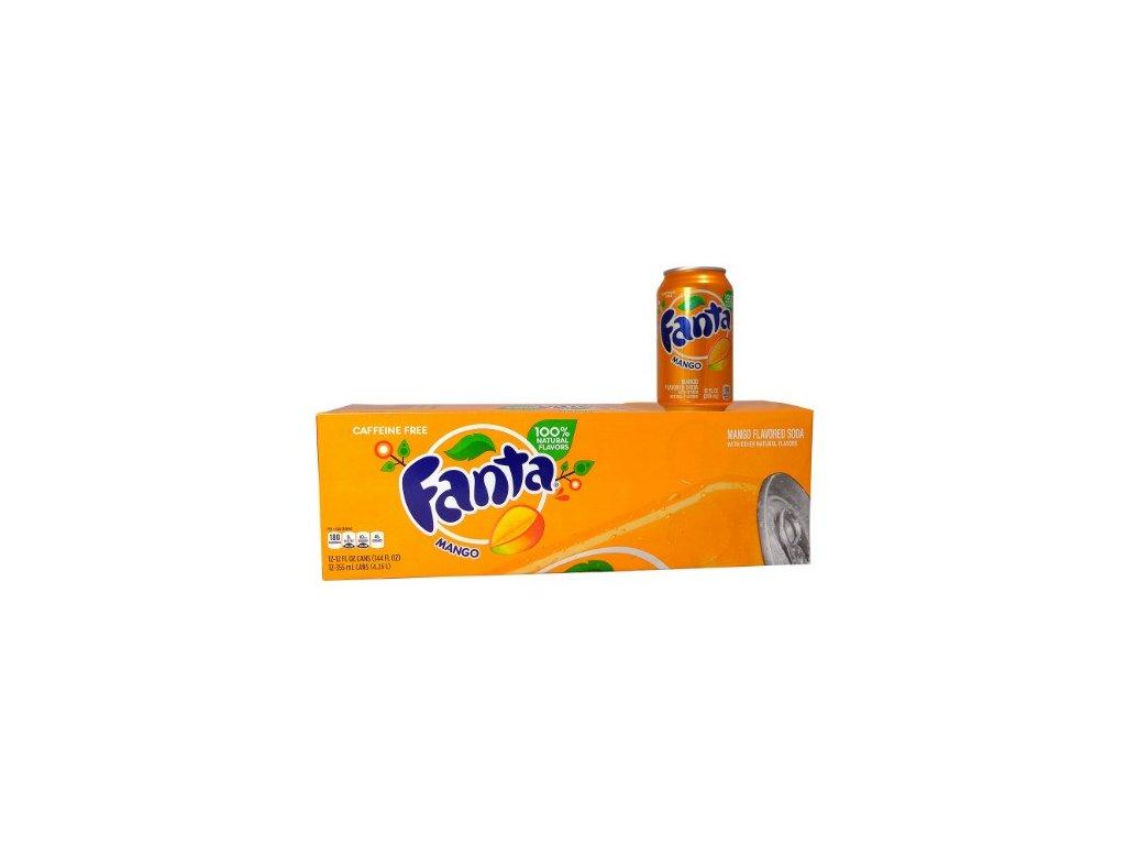 Fanta Mango USA karton 12x 355ml