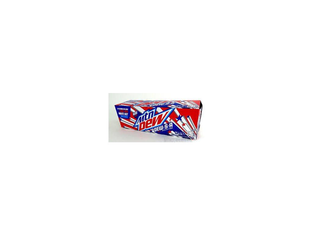 Mountain Dew DEW S.A. USA karton 12x 355ml
