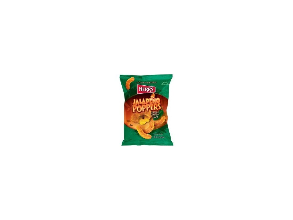 Herr's Jalapeno Poppers Cheese Curls 28g