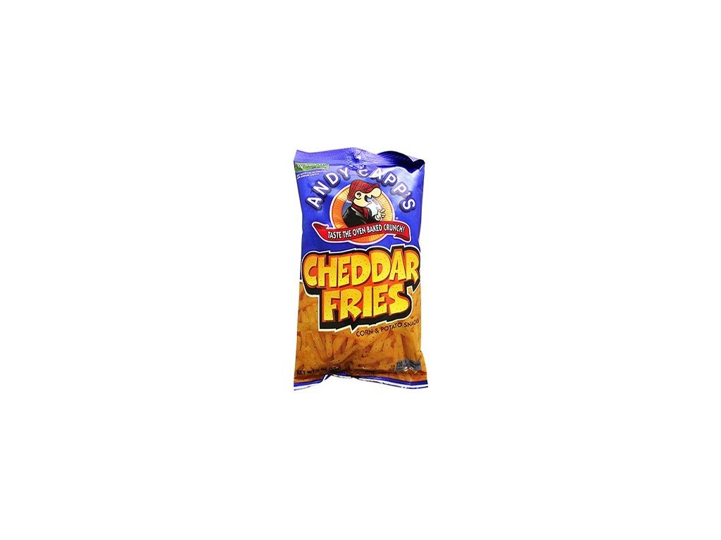 Andy Capp's Cheddar Potato Fries 85g