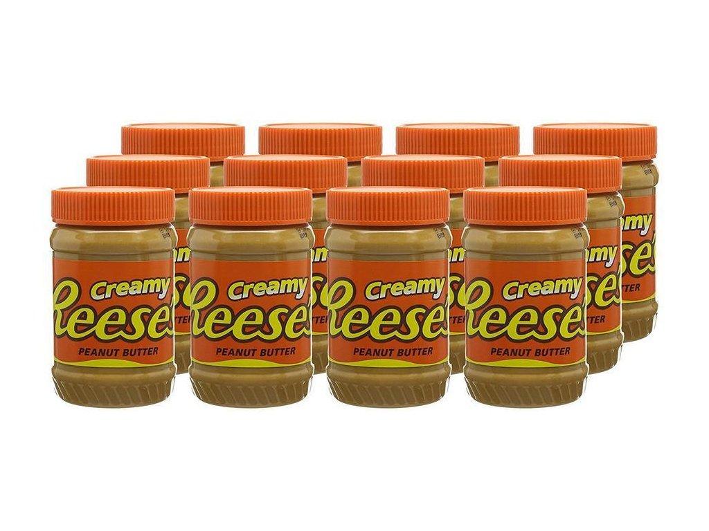 Reese's Creamy Peanut Butter karton 12x 510g
