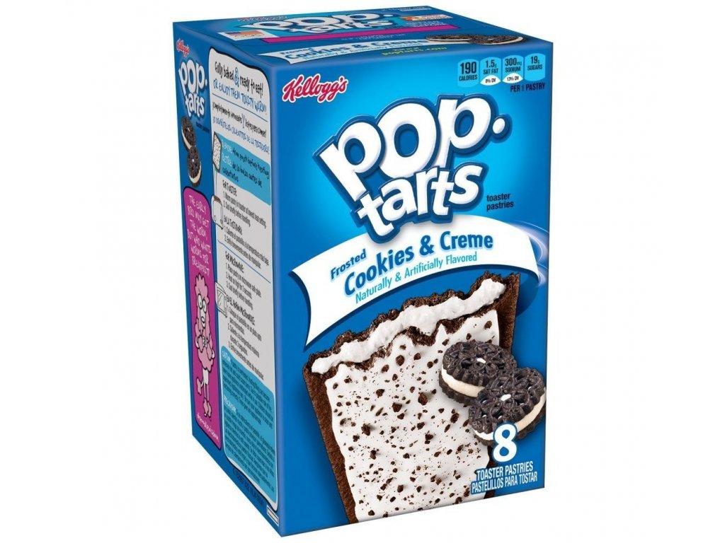 Kelloggs Cookies & Creme Pop Tarts 8x 50g