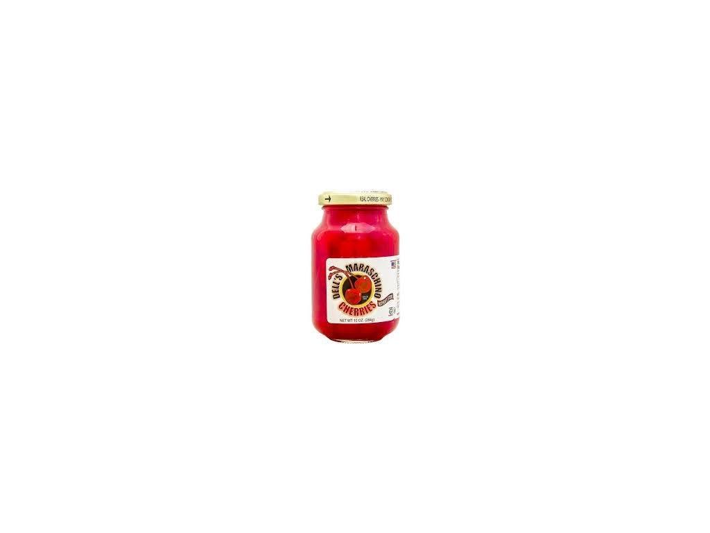 Dell´s Maraschino Cherries With Stem 170g