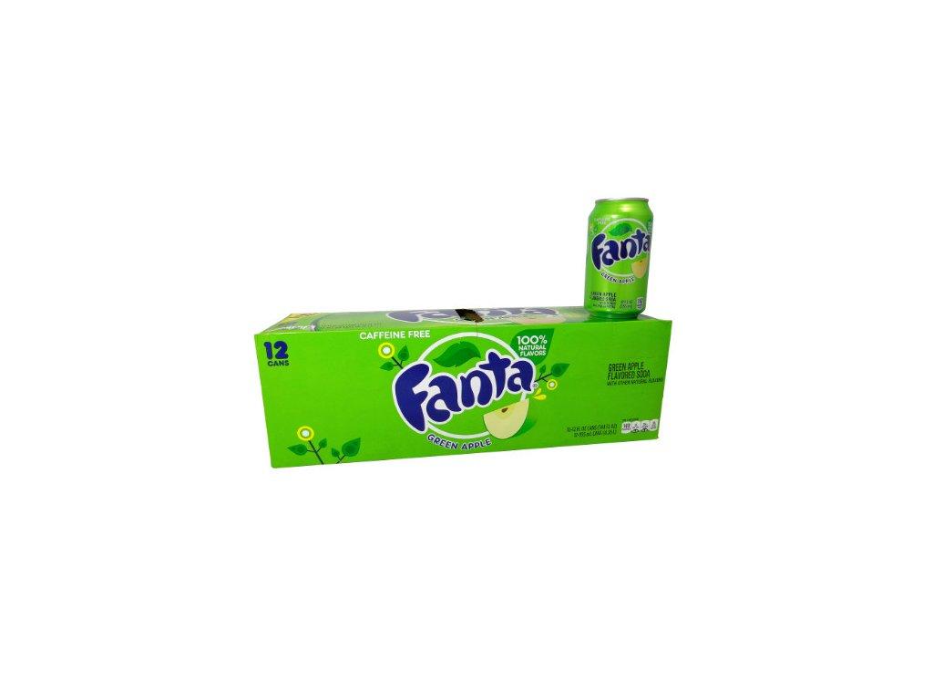 Fanta Green Apple USA karton 12x 355ml