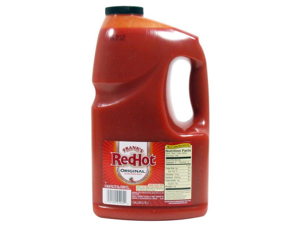 Frank's Red Hot Original Sauce BIG 3,78l