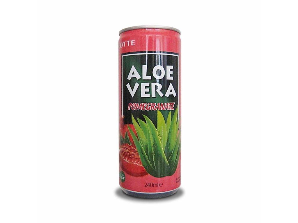 Lotte Aloe Vera Pomegranate 240ml