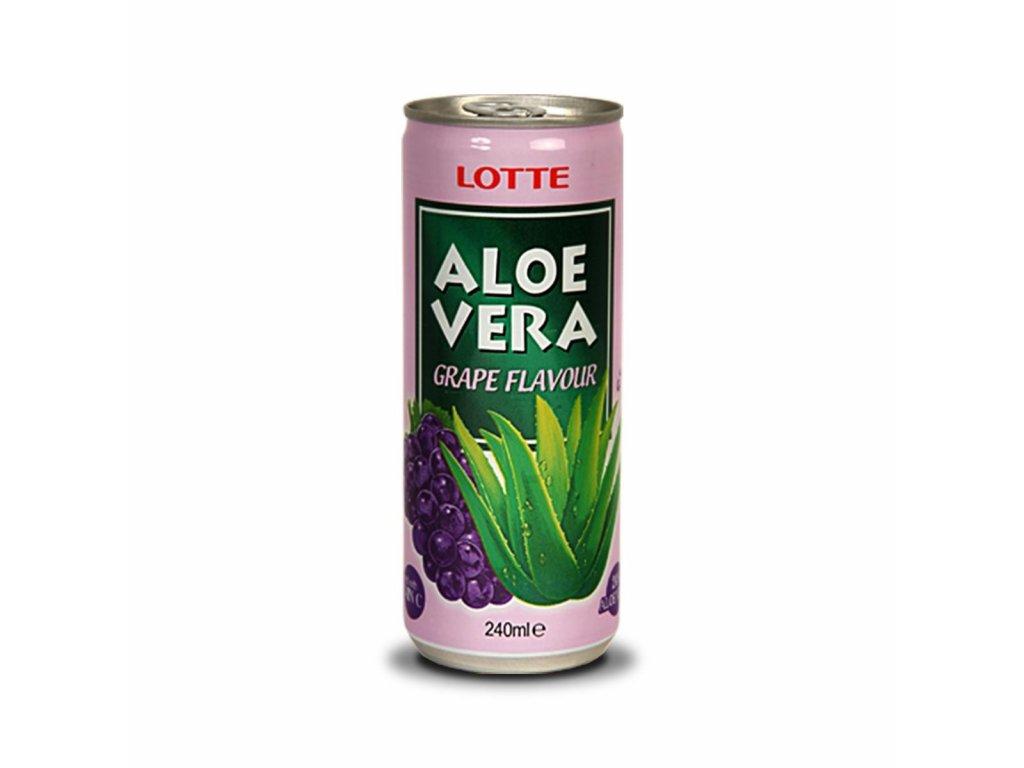 Lotte Aloe Vera Grape Flavour 240ml