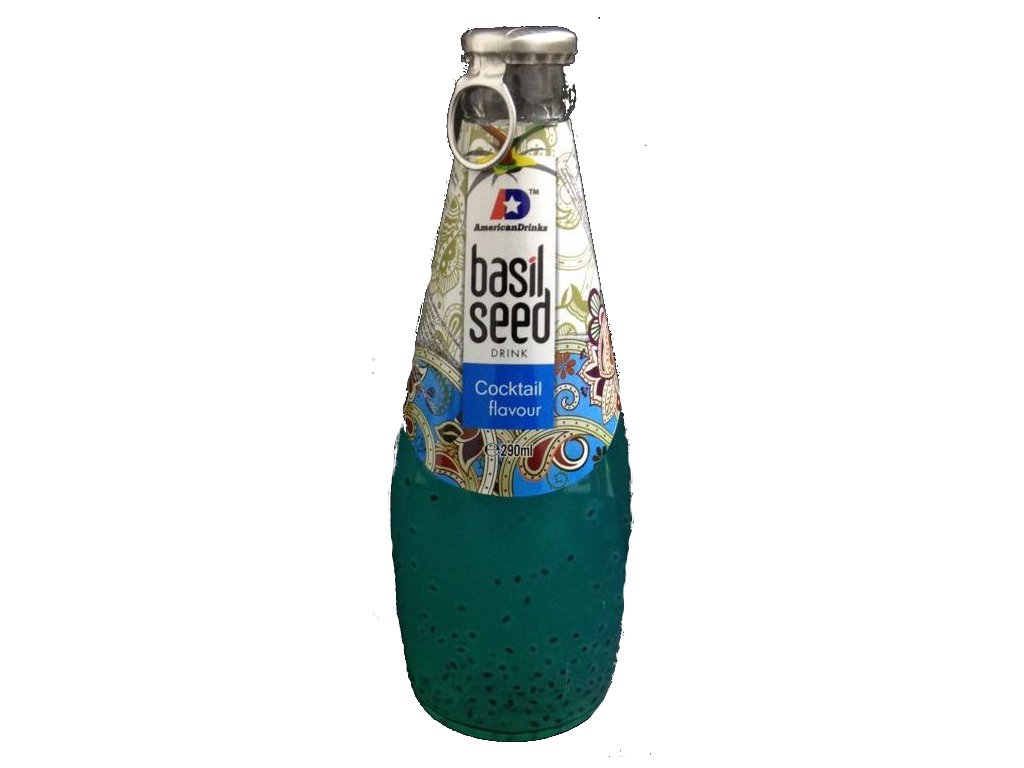 Basil Seed Drink Cocktail Flavour 290ml