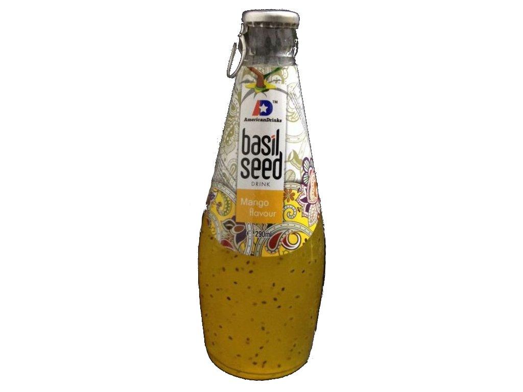 Basil Seed Drink Mango Flavour 290ml