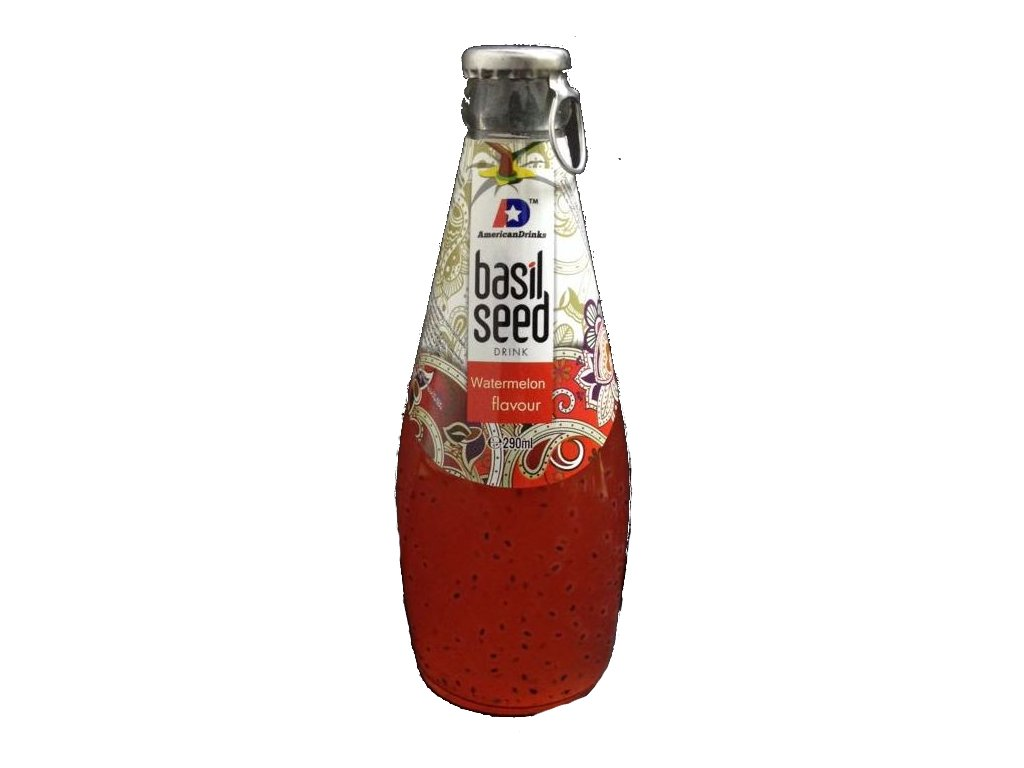 Basil Seed Drink Watermelon Flavour 290ml