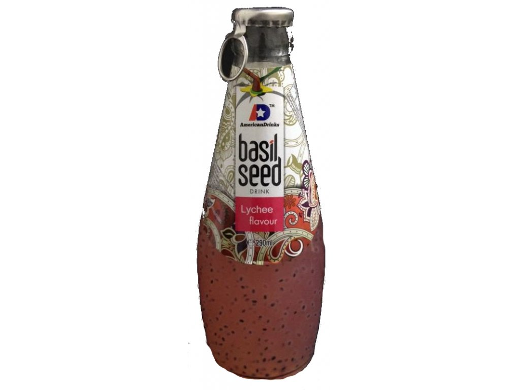 Basil Seed Drink Lychee flavour 290ml