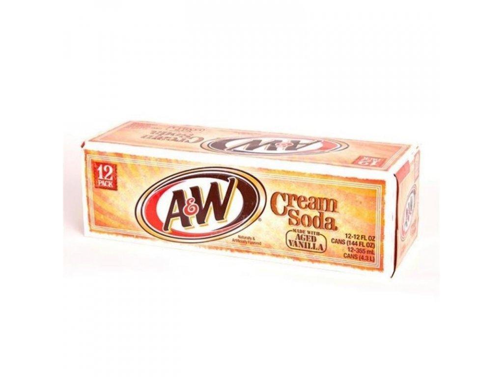 A&W Cream Soda USA karton 12x 355ml