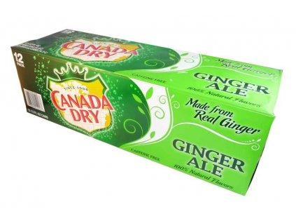 Canada Dry Ginger Ale USA karton 12x 355ml