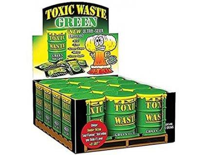 Toxic Waste Green Drum Extreme Sour Candy karton 12x 42g