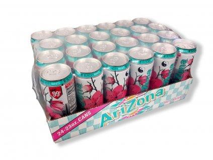 Arizona Black & White Iced Tea karton 24x 680ml