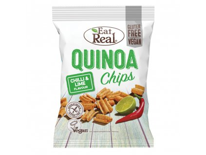 Eat Real Quinoa Chips s chilli a limetkou 30g
