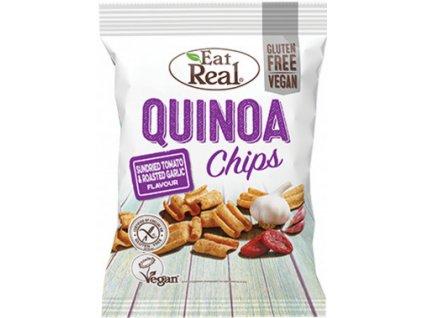 Eat Real Quinoa Chips sušená rajčata a pečený česnek 30g