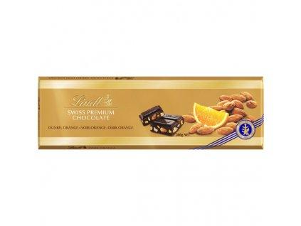 Lindt Dark Orange Almonds 300g