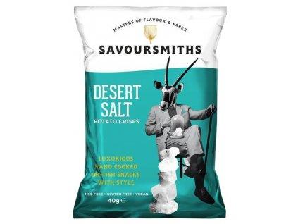 Savoursmiths Desert Salt bramborové lupínky 40g
