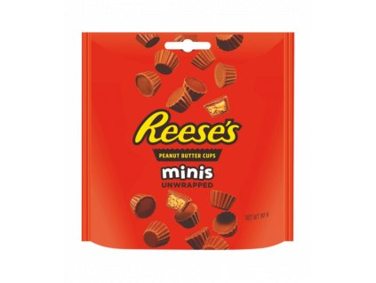 reeses peanut butter cups minis 90g 525x600