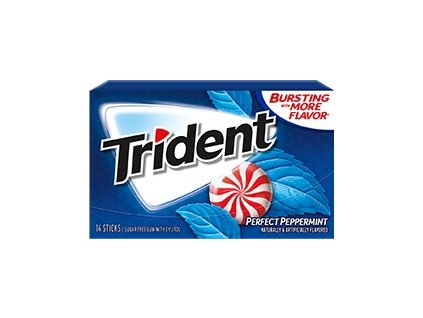 Trident Gum Perfect Peppermint 27g - AKCE