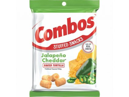 Combos Jalapeno Cheddar Tortilla Crackers 178,6g - AKCE
