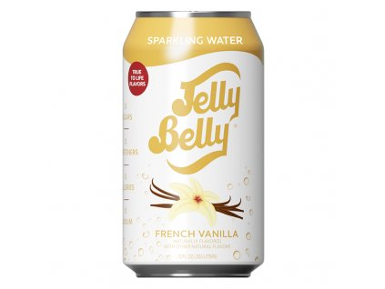 jelly belly French Vanilla sparkling water 355ml