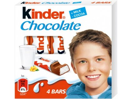 Kinder Chocolate 4T 01