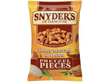 Snyders honey Mustard Onion 125g 01