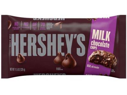 Hersheys milk chocolate chips 326g 01